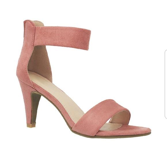S. the Widow Shoes   Rishi Salmon Pink